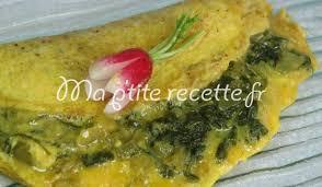 cuisiner fanes de radis omelette aux fanes de radis recette plat oeuf et radis
