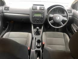 2004 volkswagen golf 1 6 fsi u2013 petrol manual silver only 85k