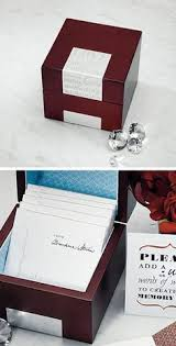 wedding wishes keepsake box anniversary gift a paper keepsake box filled with your
