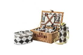 picnic basket for 2 andrew 2 person traditional wicker picnic garden