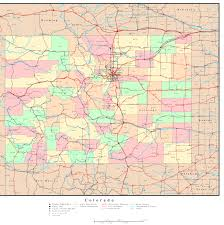 Snowmass Colorado Map by Colorado Reference Map