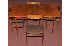 G Plan Dining Chair A Teak Extending Dining Table And Four Dining Chairs Probably G