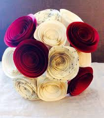 paper flower centerpieces paper flower bouquet sheet wedding bouquet