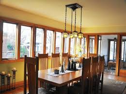 The Morgan Dining Room - frank lloyd wright homes featured in beverly morgan park home