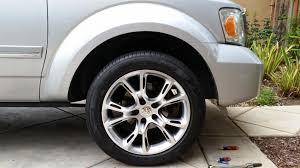 jeep durango blacked out new jeep srt rims n tires on the durango dodgeforum com