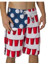 American Flag Swimming Trunks O U0027neill Murca American Flag Beer Pong Boardshorts Ebay