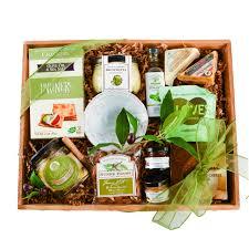 mail order gift baskets rustic gourmet elegantly handled gift baskets