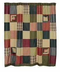 bj s country charm primitive shower curtains shower curtains