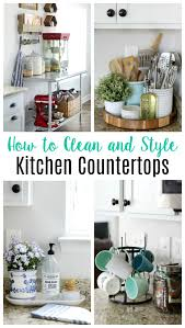 can you use to clean countertops how to style and clean kitchen countertops gluesticks