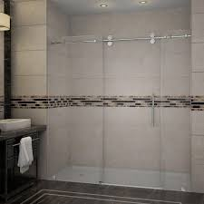 Bathtub Doors Home Depot by Schon Judy 60 In X 59 In Semi Framed Sliding Trackless Tub And