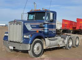 used w900 kenworth trucks for sale 1990 kenworth w900 semi truck item g7157 sold february