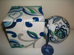 collectible vera bradley mediterranean white ornament in
