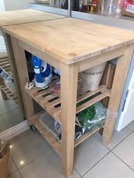 solid wood kitchen island block and shelves in yate bristol