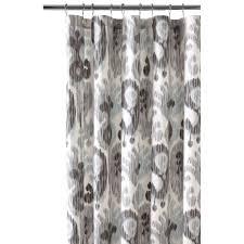 Threshold Medallion Shower Curtain by Gray Shower Curtain Interior Design