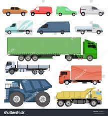 trucks icons set vector shipping cars stock vector 449786011
