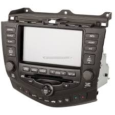 navigation units remanufactured for honda accord oem ref