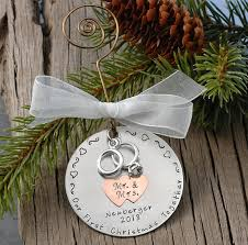 personalized christmas ornaments wedding personalized wedding christmas ornament our christmas