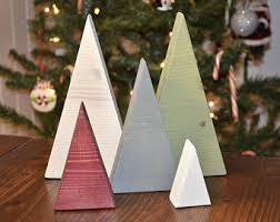 triangle tree etsy