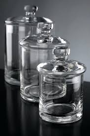 clear glass canisters for kitchen clear glass canisters kitchen with pewter lids wholesale containers