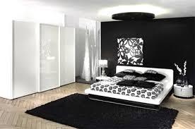 chambre noir et blanc design chambre design noir et blanc meuble oreiller matelas memoire