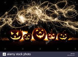 lanterns fireworks pumpkins o lanterns faces and fireworks