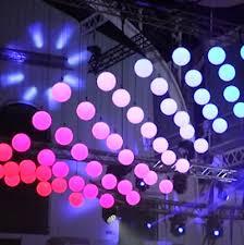 kinetic led light balls at european researchers 2017