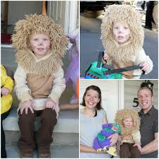 Infant Lion Halloween Costume Homemade Halloween Costumes Kids Families Homemade