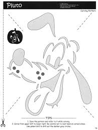 disney pluto mickey mouse and friends free halloween pumpkin