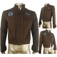 halloween costume scientist rogue one a star wars story captain cassian jacket coat cosplay