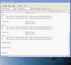 resume wordpad create a cv in wordpad youtube