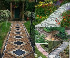 Backyard Walkway Ideas Collection Home Gardening Ideas Photos Best Image Libraries
