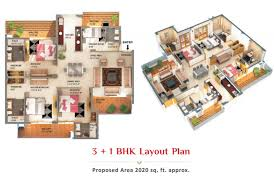 3bhk flat in zirakpur chandigarh