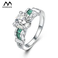 aliexpress buy new arrival white gold color aaa mdean white gold color rings for women wedding engagement fashion