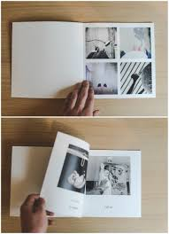 a minimal photo book layout for a clean aesthetic look design