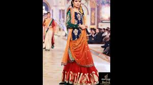 latest pakistani mehndi dress design collections 2016 youtube