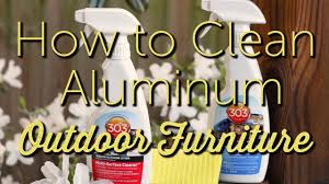 How To Clean Patio Chairs How To Clean Aluminum Outdoor Furniture Patio Furniture