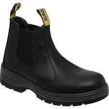 big w s boots blacksmith chippie b steel cap work boots black big w
