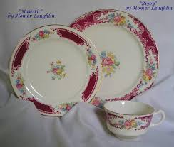 homer laughlin china virginia majestic and b1309 by homer laughlin co rm sterling