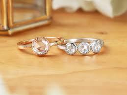 bezel set engagement ring beautiful bezel set diamond rings brilliant earth