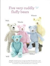 sirdar hand knit toys pattern book 474 friends forever 2 sue