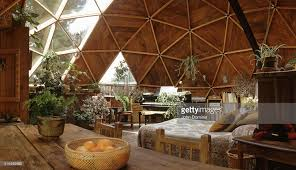geodome house dr bingham s geodesic dome house pictures getty images
