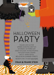 Kids Halloween Birthday Party Invitations by Classic Party Invites Doc Milo Wedding U0026 Bridal Invitations