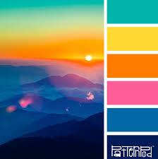 Blue Orange Color Scheme 1565 Best Fresh Color Schemes Images On Pinterest Colors Colour