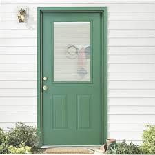 exterior door with blinds between glass door blinds between glass blinds between the glass 9 lite