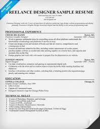 Designer Resume Sample by Freelance Graphic Designer Resume Samples Visualcv Freelance