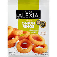 best onion rings images Alexia foods crispy onion rings with panko breading and sea salt jpeg