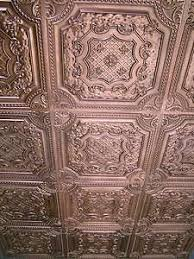 Faux Tin Ceiling Tiles Drop In by 112 Best Victorian Ceiling Tiles Images On Pinterest Tin