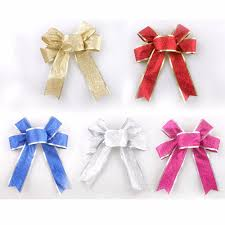 aliexpress com buy ribbon merry christmas bows making party