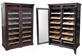 used cigar humidor cabinet for sale dual zone electronic temperature humidors cigar cabinet with