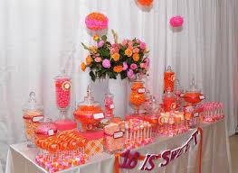 sweet 16 birthday party ideas 10 orange party ideas a to zebra celebrations